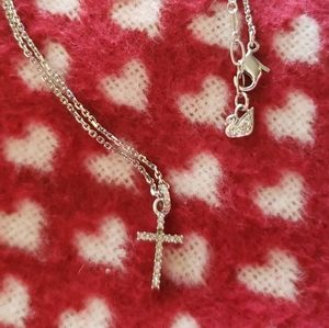 Cross Swarovski Crystal Necklace